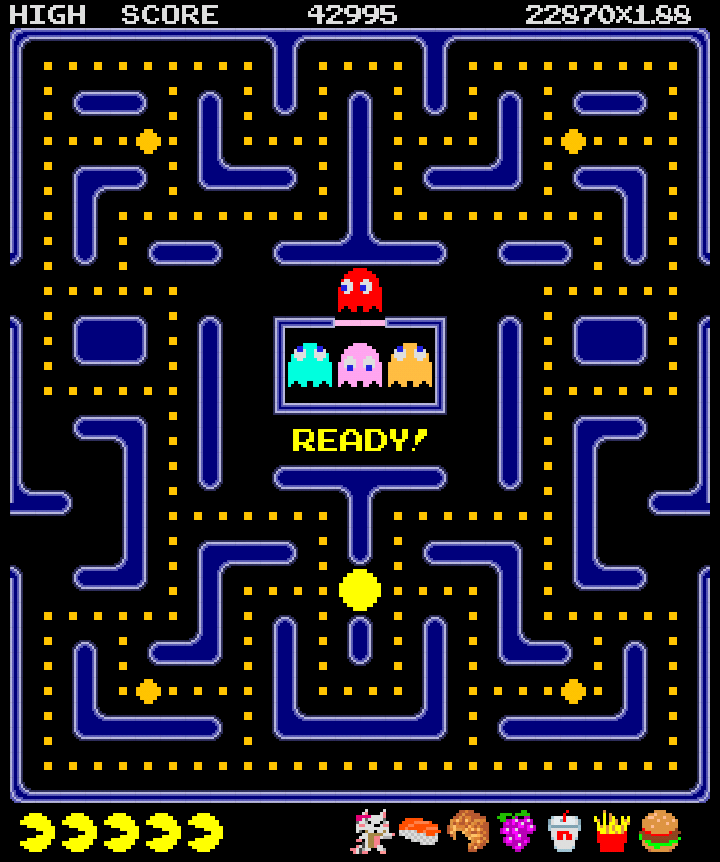 Pac Man Screen Shot