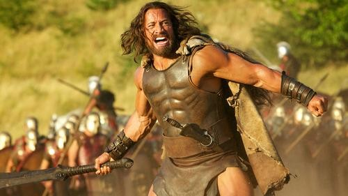 D Johnson as Hercules